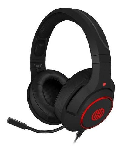Headset Gaming Archer LF80R com Led 7.1 Vermelho