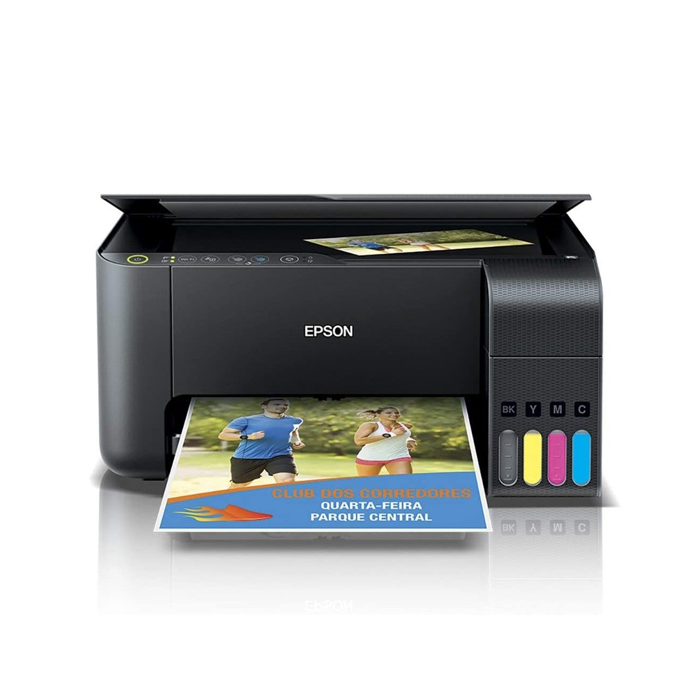Impressora Multifuncional Jato de Tinta Epson L3150 Tanque Wi Fi