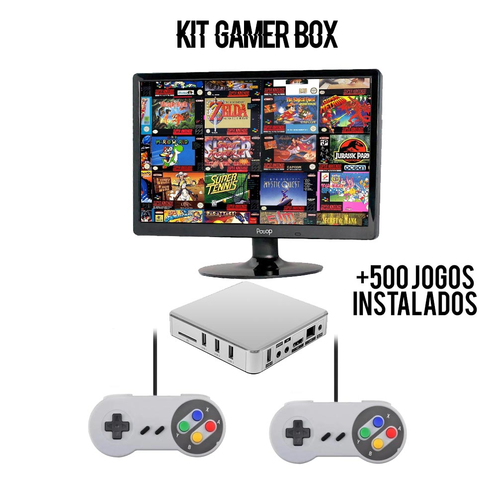 Kit Gamer Box