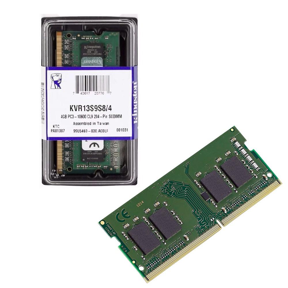 Memoria Notebook DDR3 4GB / 1600Ghz 12800 Box Kingston