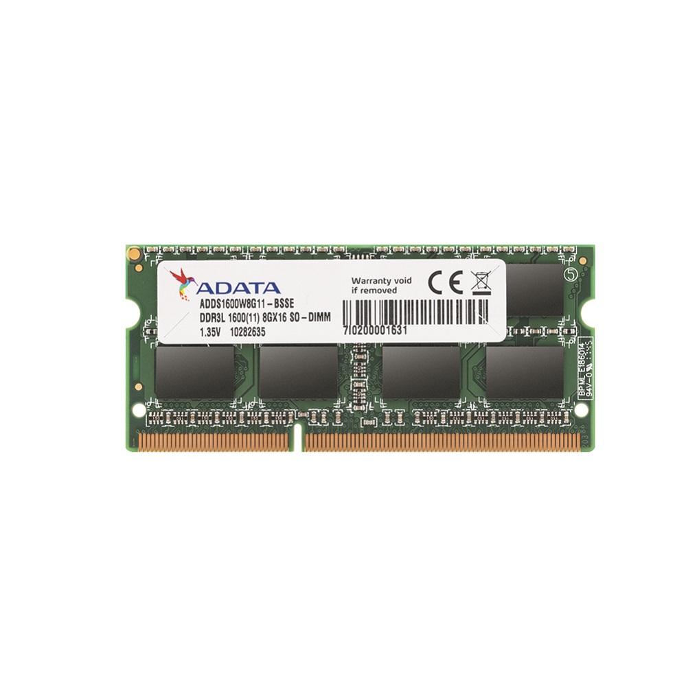 Memoria Notebook DDR3 8GB 1600MHz ddr3L A-Data
