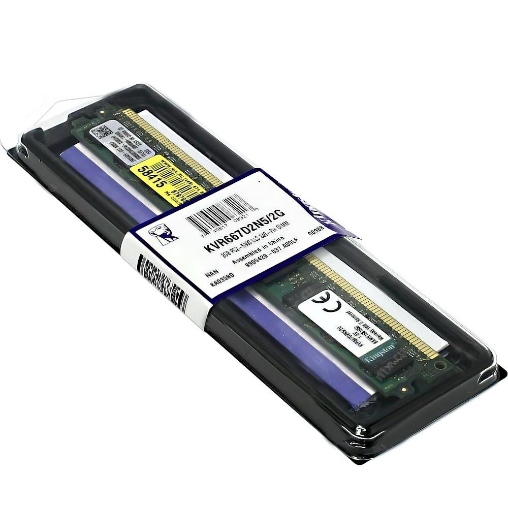 Memória PC DDR2 2GB / 667 Kingston