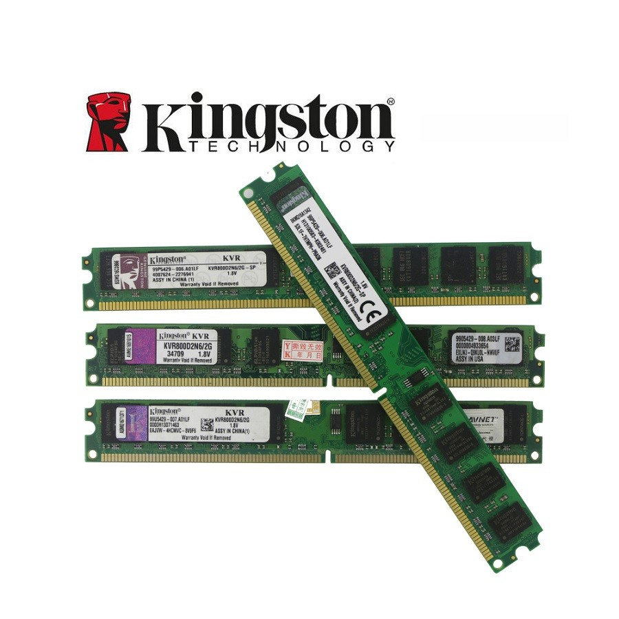 Memória PC DDR2 2GB / 800 Kingston