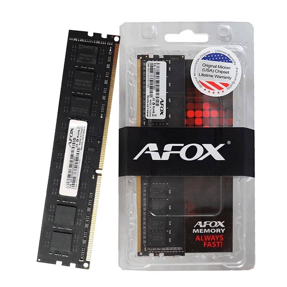 Memoria PC DDR3 8GB 1600 Mhz 12800 Afox