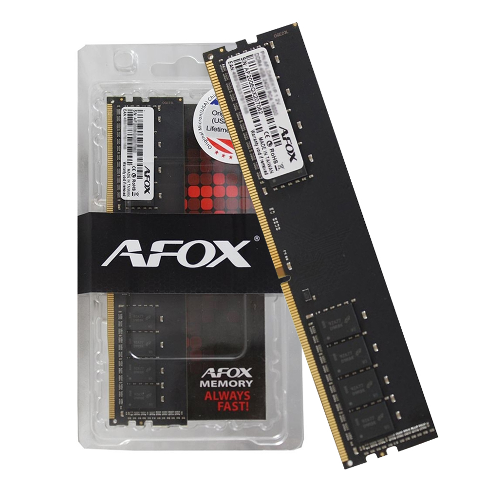 Memoria PC DDR4 16GB 2400Mhz Afox