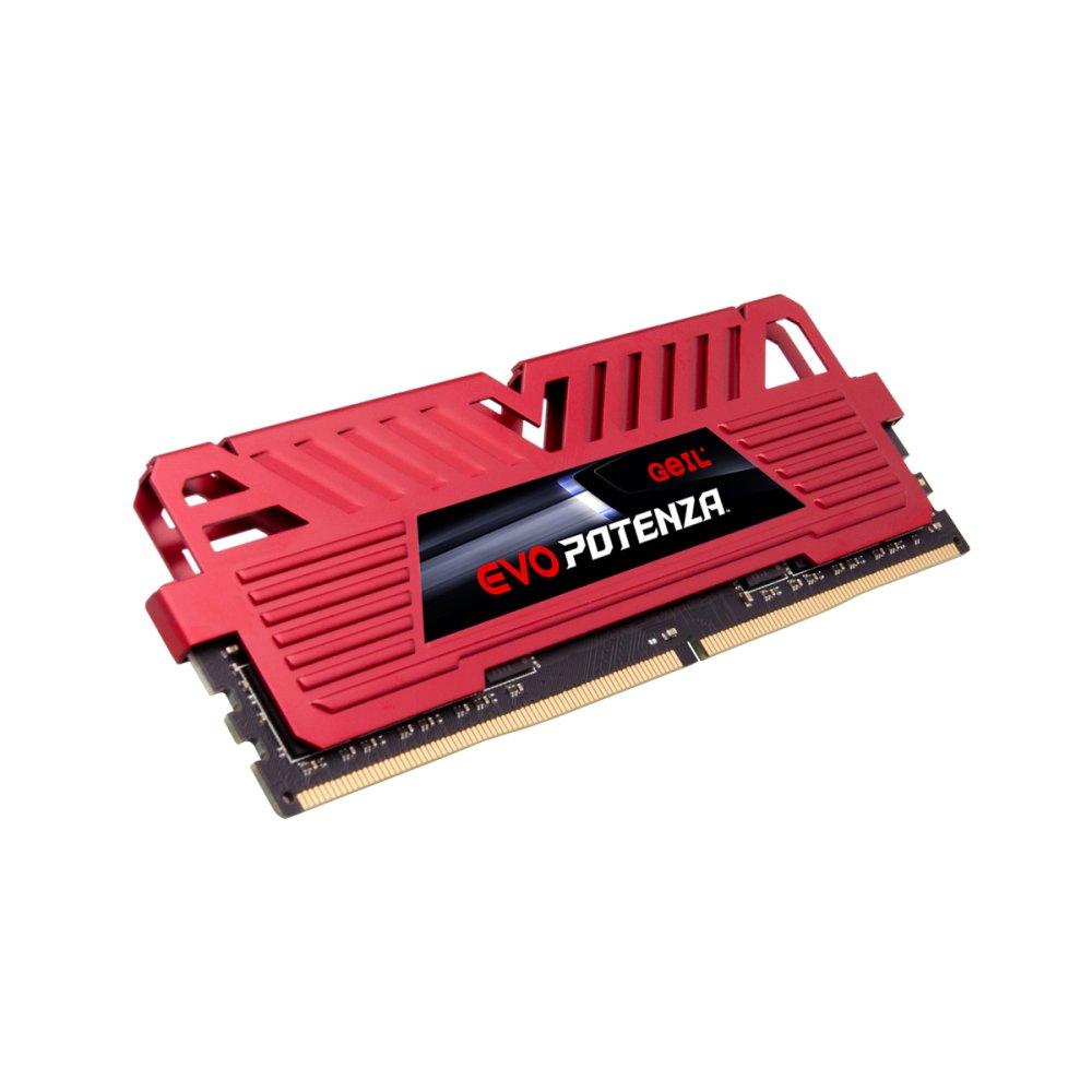 Memoria PC DDR4 16GB 3000GHZ Potenza EVO GEIL RED