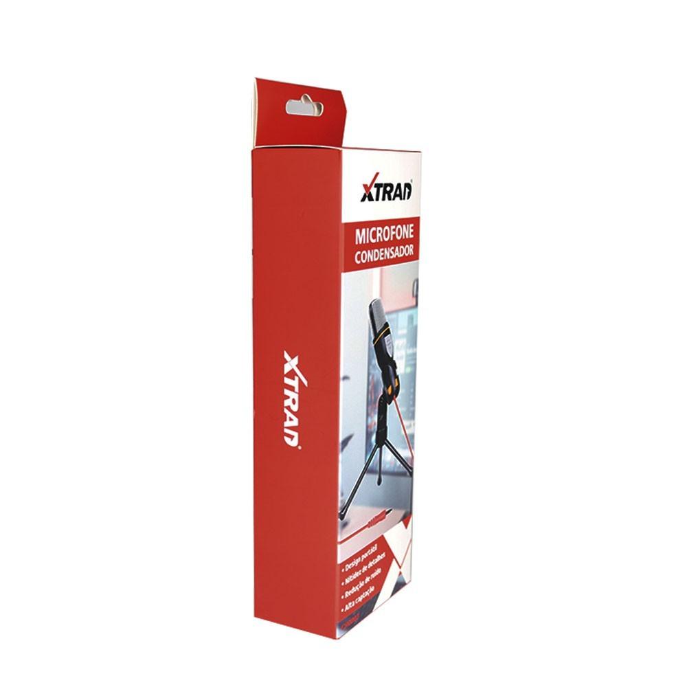 Microfone Condensador CH0803 Xtrad
