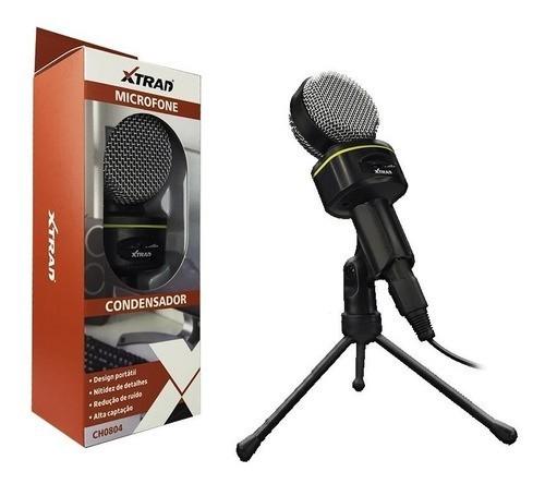 Microfone Condensador CH0804 Xtrad