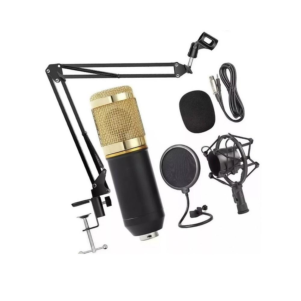 Microfone Profissional LE-914 Lelong
