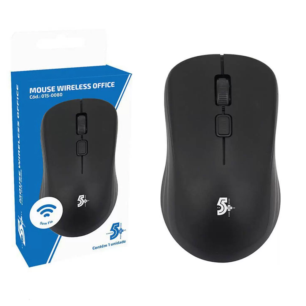 Mouse sem Fio 015-0080 Office
