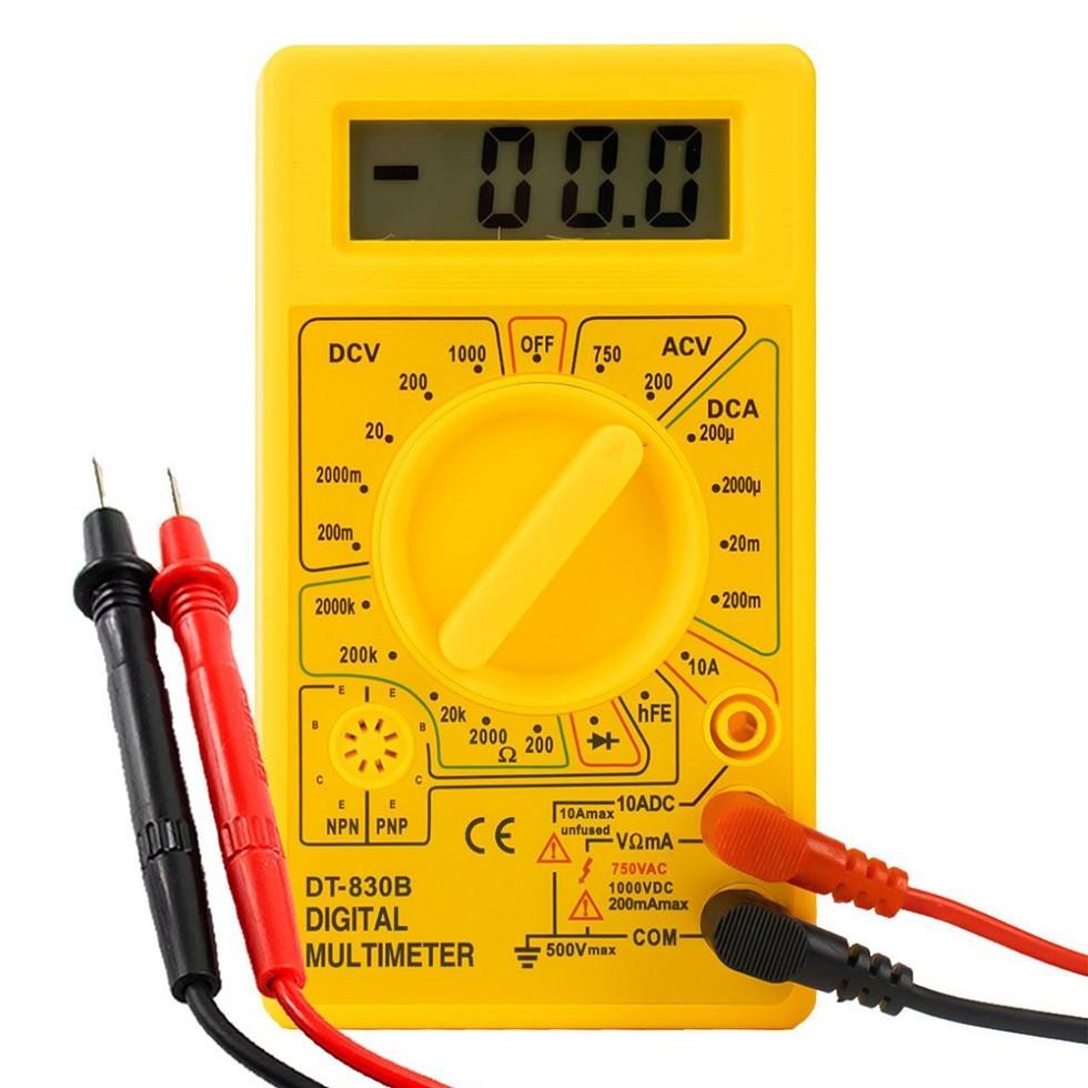 Multimetro Digital DT 830
