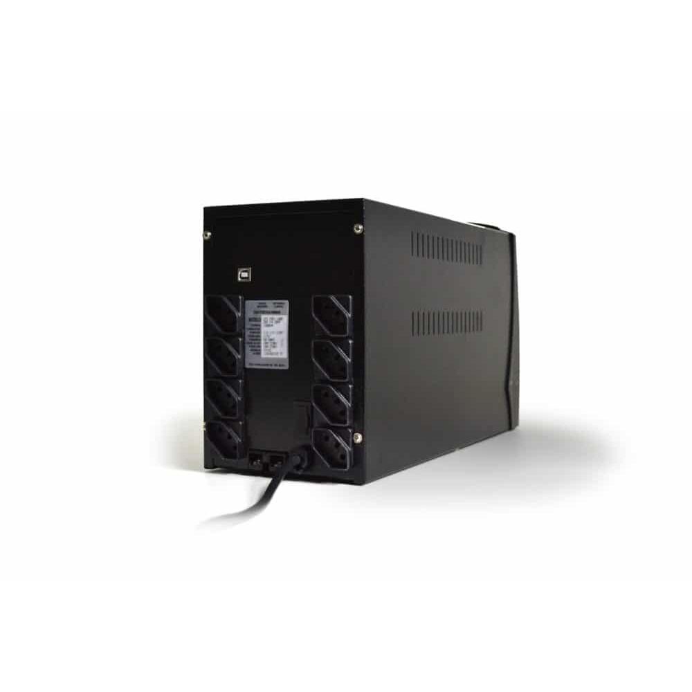 Nobreak  1200VA UPS Mini Bivolt  Entrada 115/227v Saida 115v Preto Ts Shara