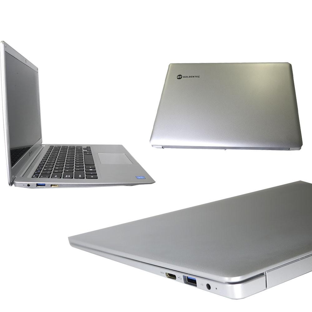 Notebook Celeron N3050 1.6Ghz 4GB 64GB Linux Goldentec