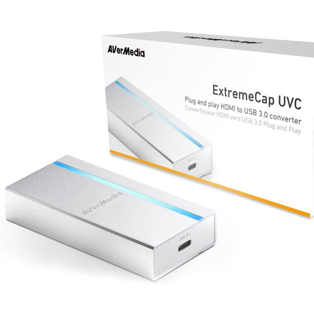 Placa de Captura Externa Portátil Avermedia Extremecap UVC, 1920x1080, USB Type-C - BU110