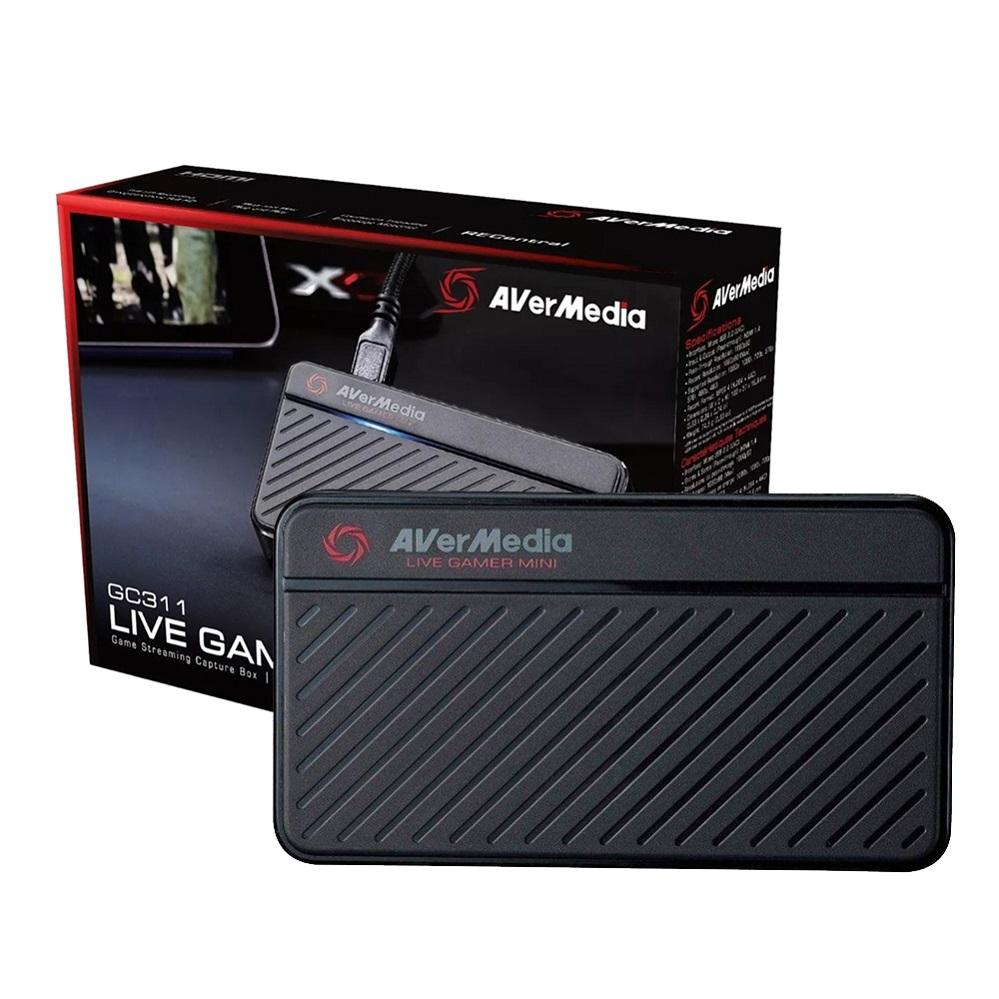 Placa de Captura Externa Portátil Avermedia GC311, 1080p60, USB 2.0 - GC311