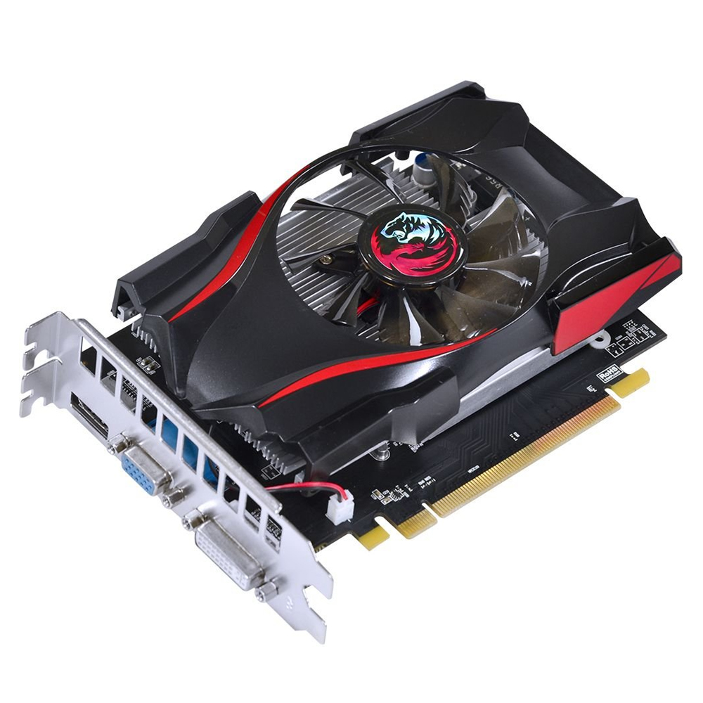 Placa de Video AMD R7 240 4GB DDR5 128 Bits HDMI DVI Pc Yes
