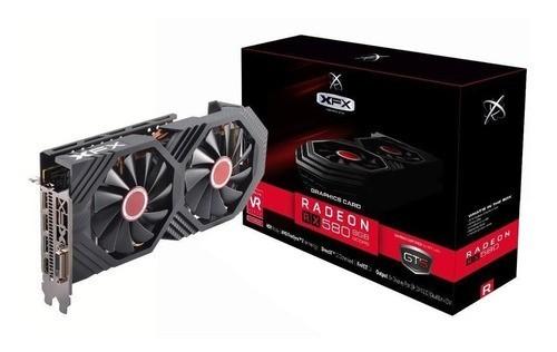 Placa de Video AMD RX 580 8GB OC+GTS XXX ED DDR5 1386MHZ XFX