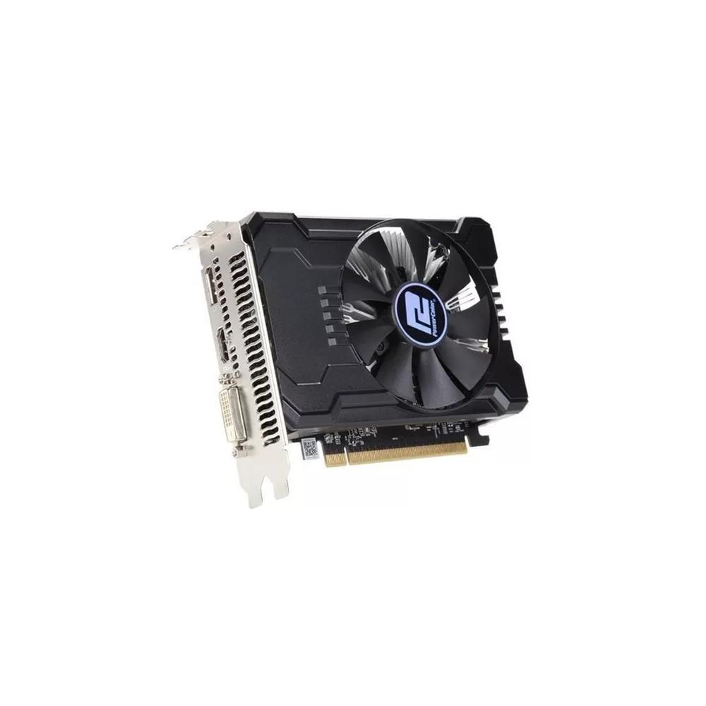 PLaca de Video GPU AMD RX 550 2GB RED DRAGON POWER COLOR