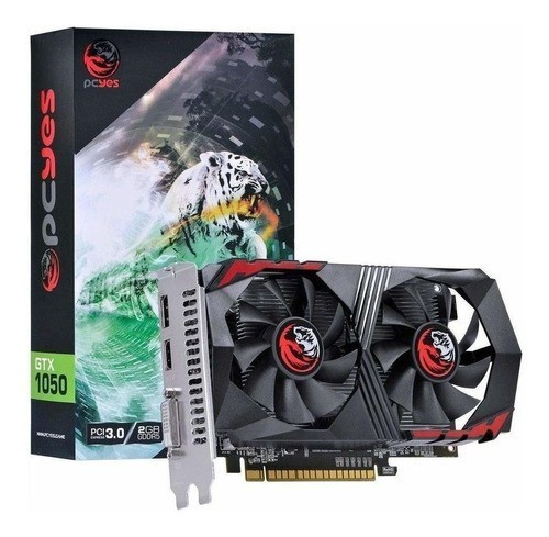 Placa de Video GPU GTX1050 2GB GDDR5 128BITS DDR5 Pc Yes