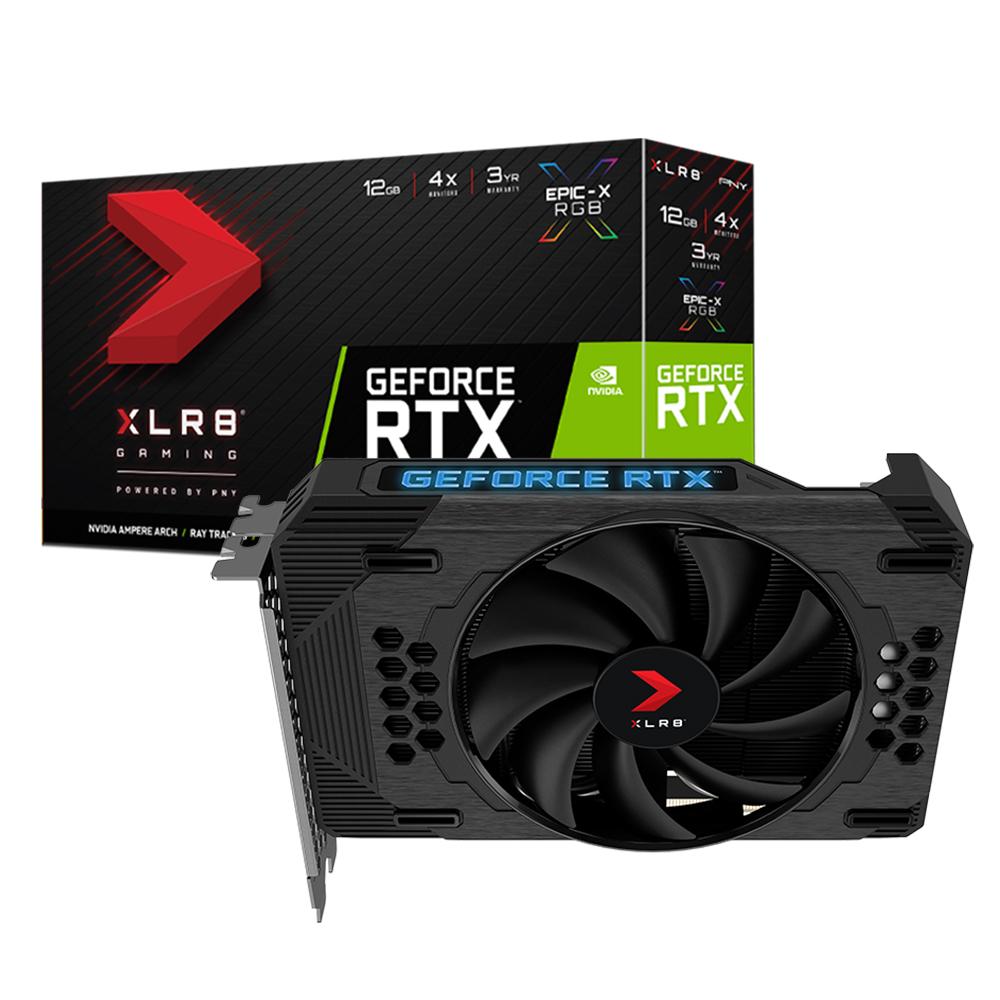 Placa de video GPU RTX 3060 12GB RGB XLR8 EPIC-X PNY
