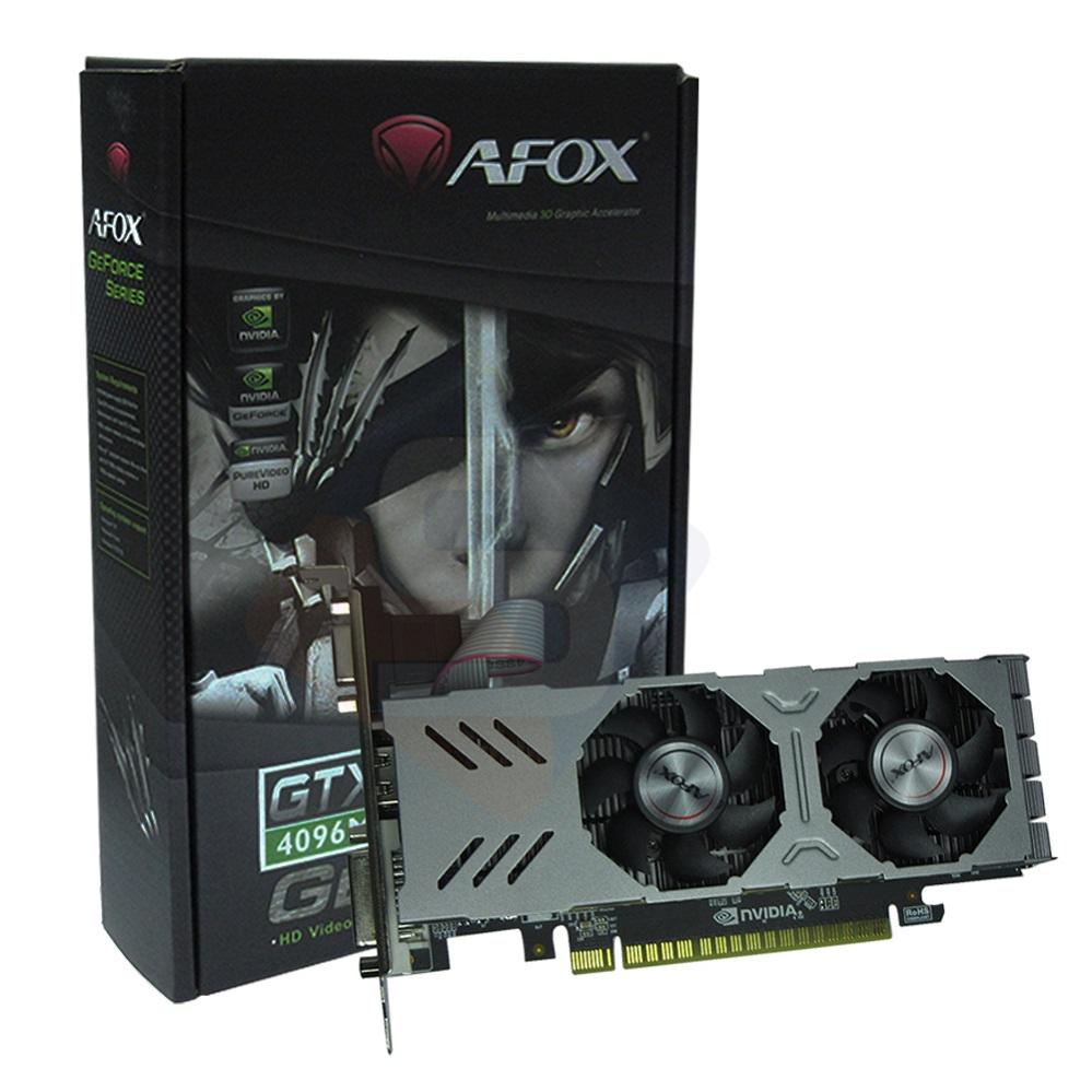 Placa de Video GTX 750 DDR5 4GB 128Bits AF750-4096D5L4 AFOX