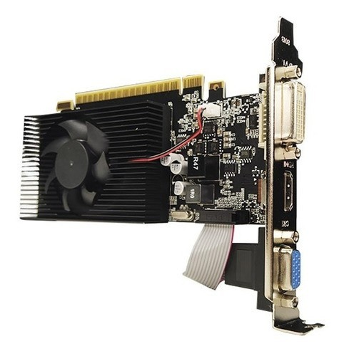 Placa de Video  PCI EXP. 4GB/128BITS GT730 GT730LP-4GD3-C DDR3 OEM   I