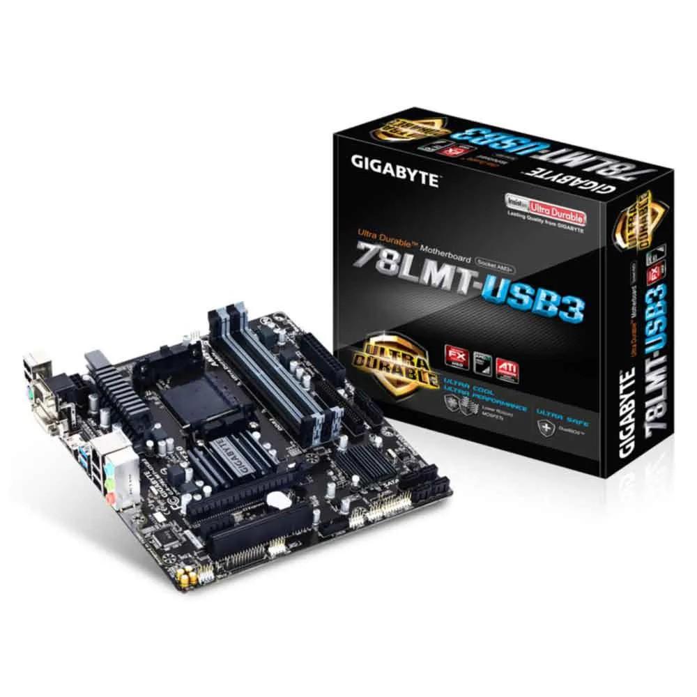 Placa Mae AMD 78LMT-USB3 ( AM3+/ DDR3/ DVI-D/ HDMI ) Gigabyte