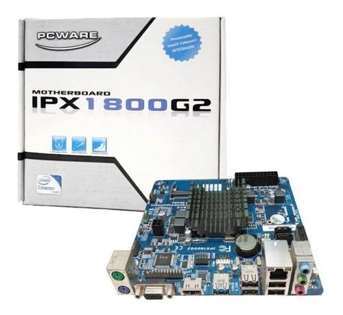 Placa Mae Integrada IPX 1800G2 Box PC Ware