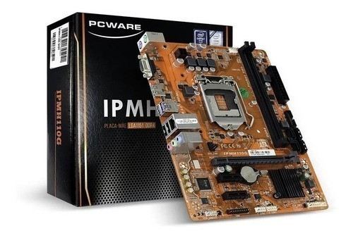 Placa Mae LGA 1151 DDR4 IPMH110G PC WARE