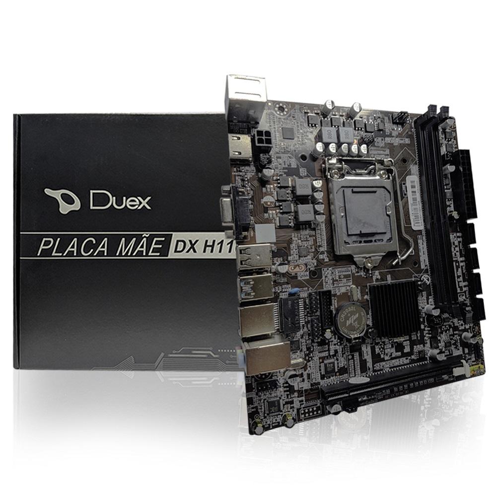 Placa Mae LGA 1151 H110M DDR4 Box Duex