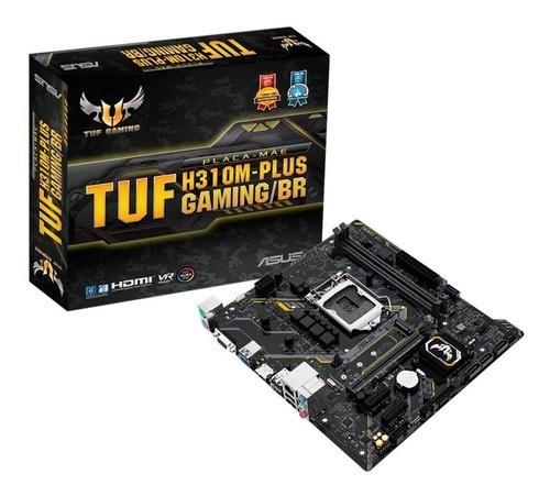 Placa Mae LGA 1151 TUF H310MPLUS GAMING 1151/DDR4/HDMI/VGA/M.2/mATX Asus