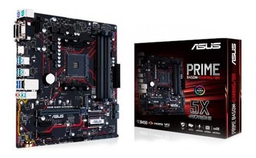 Placa Mae LGA AM4 PRIME B450MGAMINGBR AM4/DDR4/HDMI/DVI-D/VGA/mATX Asus