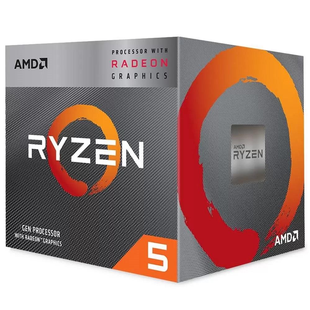 Processador AMD AM4 Ryzen 5 3600 3.6GHz 36Mb BOX