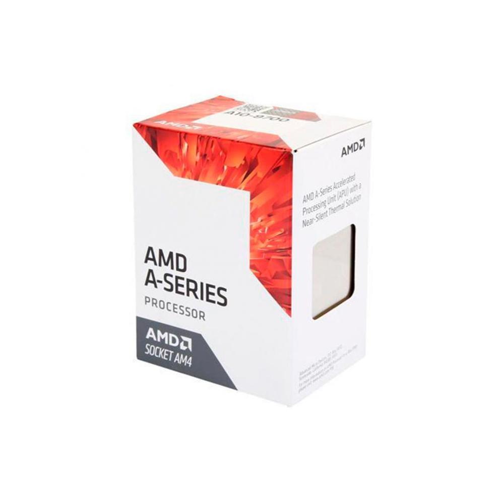 Processador AMD LGA AM4 A10 9700 3.5GHz 2Mb/L2 4C Radeon R7 65W BOX