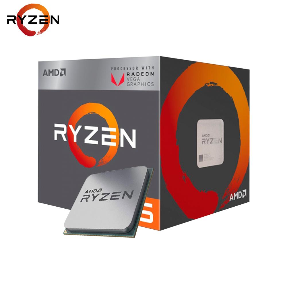 Processador AMD LGA AM4 Ryzen 5 2400G 3.6 Ghz 6Mb c/ Radeon VEGA 11 BOX