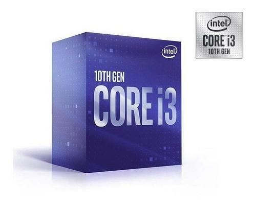 Processador Intel LGA 1151 Core i3-10100 3.6GHz 6MB LGA1200 BOX