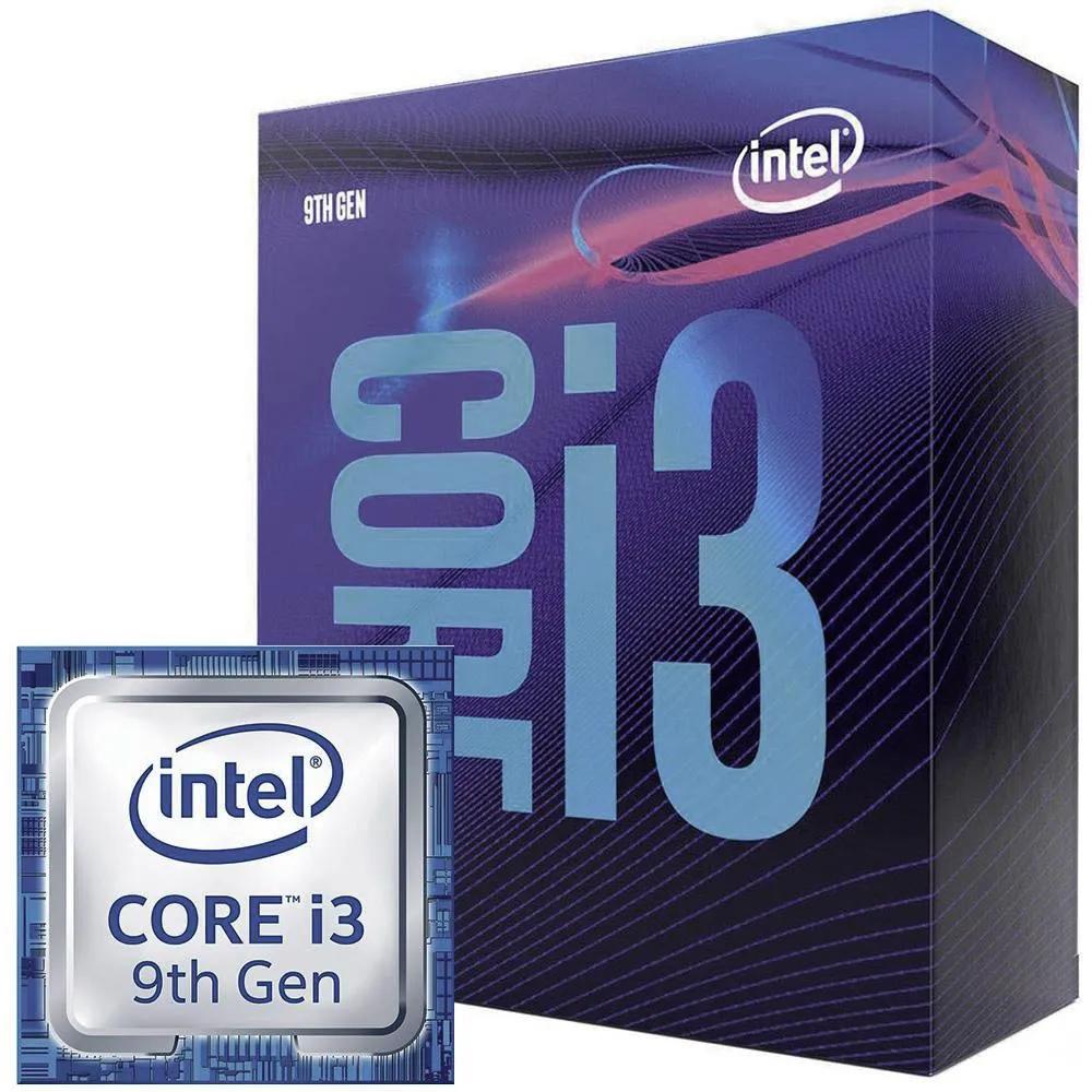 Processador Intel LGA 1151 Core i3 9100F 3.6GHz 6Mb LGA BOX