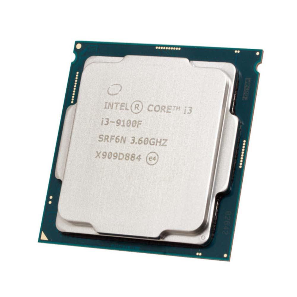 Processador Intel LGA 1151 Core i3-9100F 3.6GHz 6Mb LGA Oem