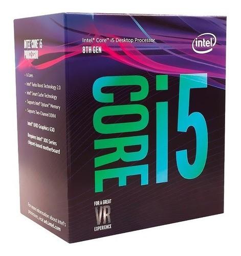 Processador Intel LGA 1151 Core i5-8400 2.80Ghz 9Mb Box