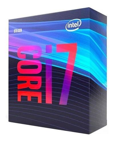 Processador Intel LGA 1151 Core i7 9700 3,00 GHZ 12MB CoffeLake BOX