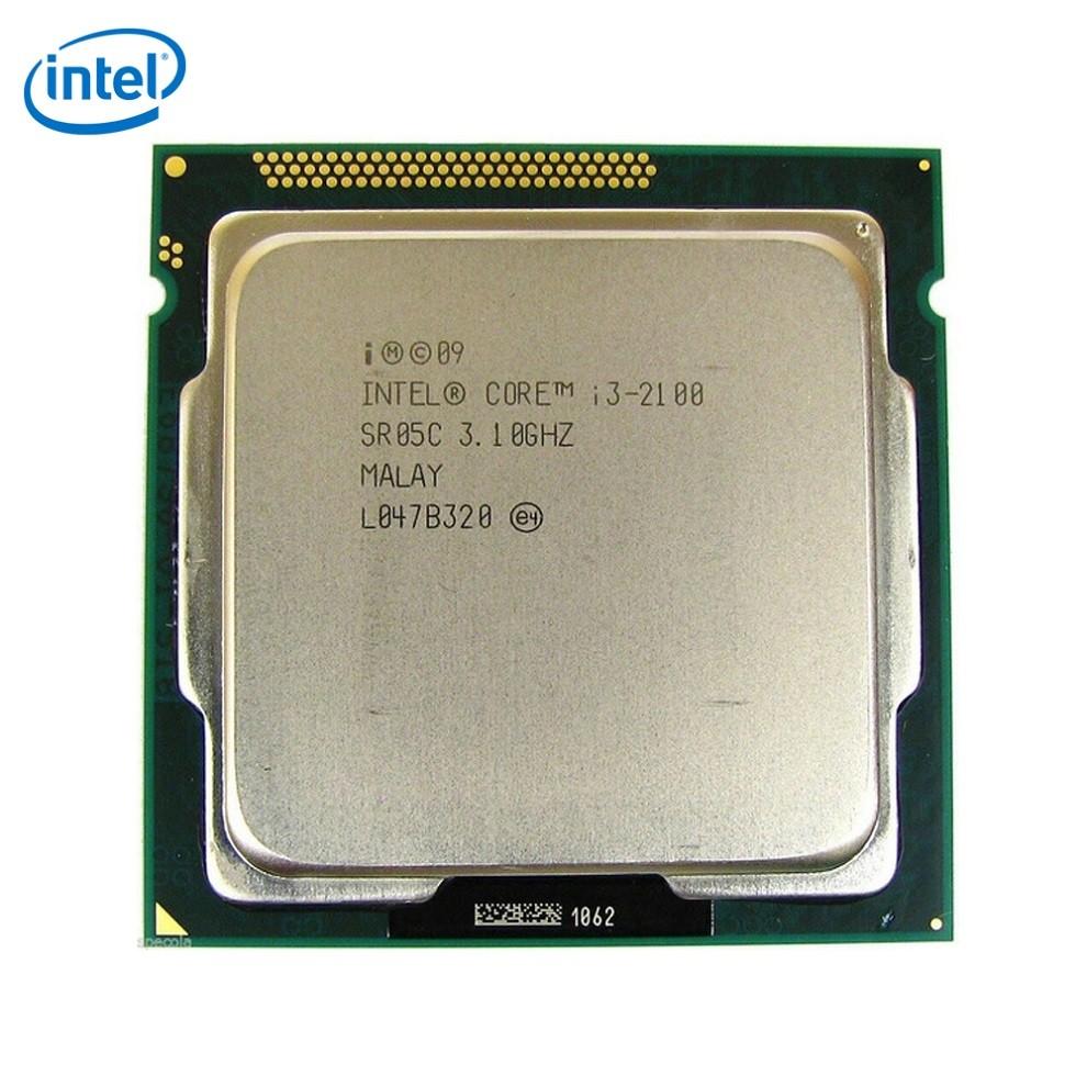 Processador Intel LGA 1155 Core I3-2100 2 Geração OEM