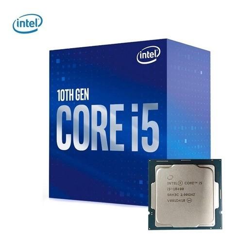 Processador Intel LGA 1200 Core i5-10400 2.9GHz 12MB LGA1200 PN # BX8070110400
