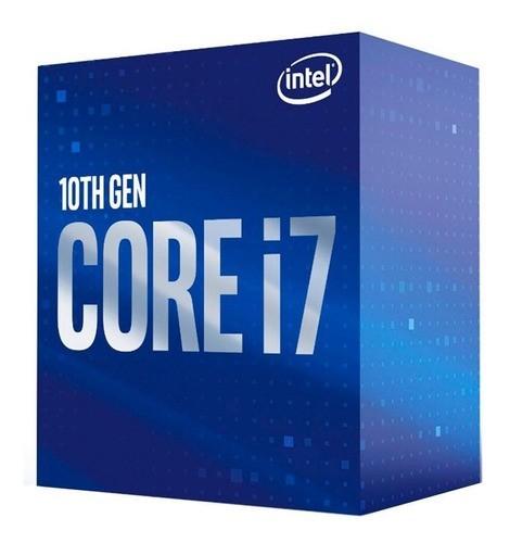 Processador Intel LGA 1200 Core i7 10700 2,90 GHZ 16MB 10º Geracao BOX