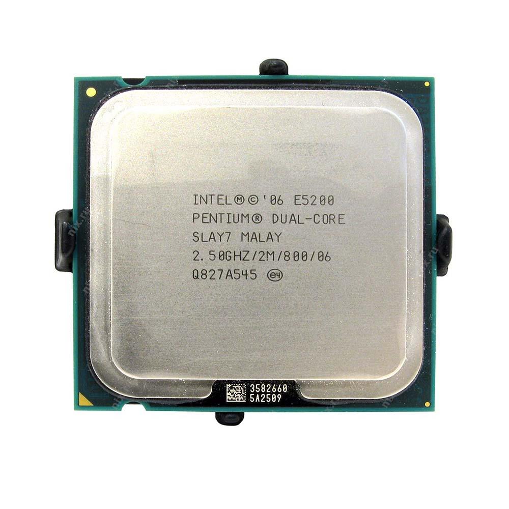 Processador Intel LGA 775 Pentium Dual Core E5200 Oem