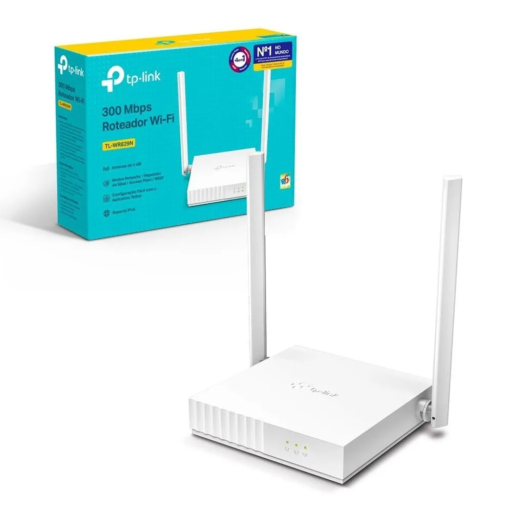 Roteador Wireless 300Mbps TL-WR829N TP-Link