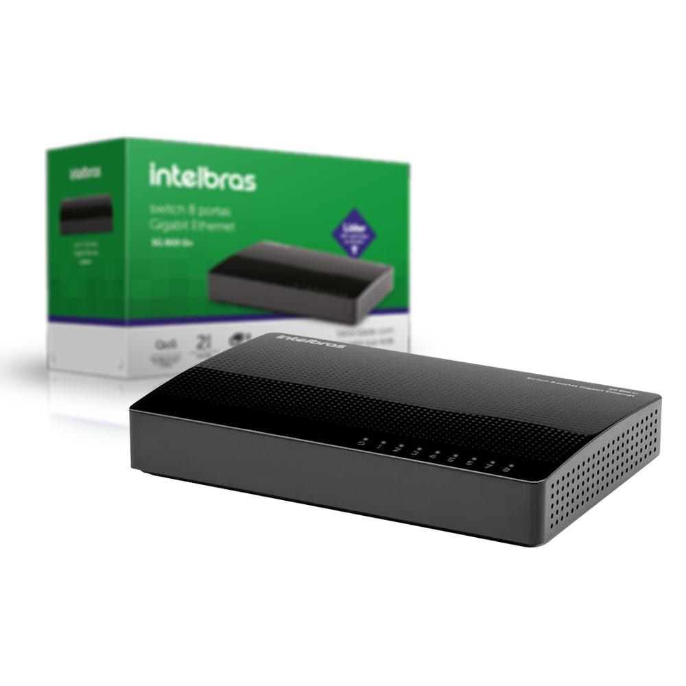 Switch 8 Portas Sg 800 Q+ Intelbras