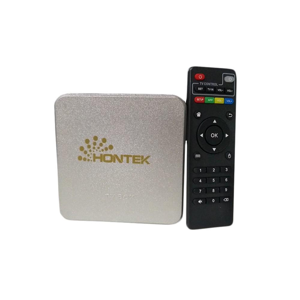 TV BOX Ultra HD 4K Prata Hontek
