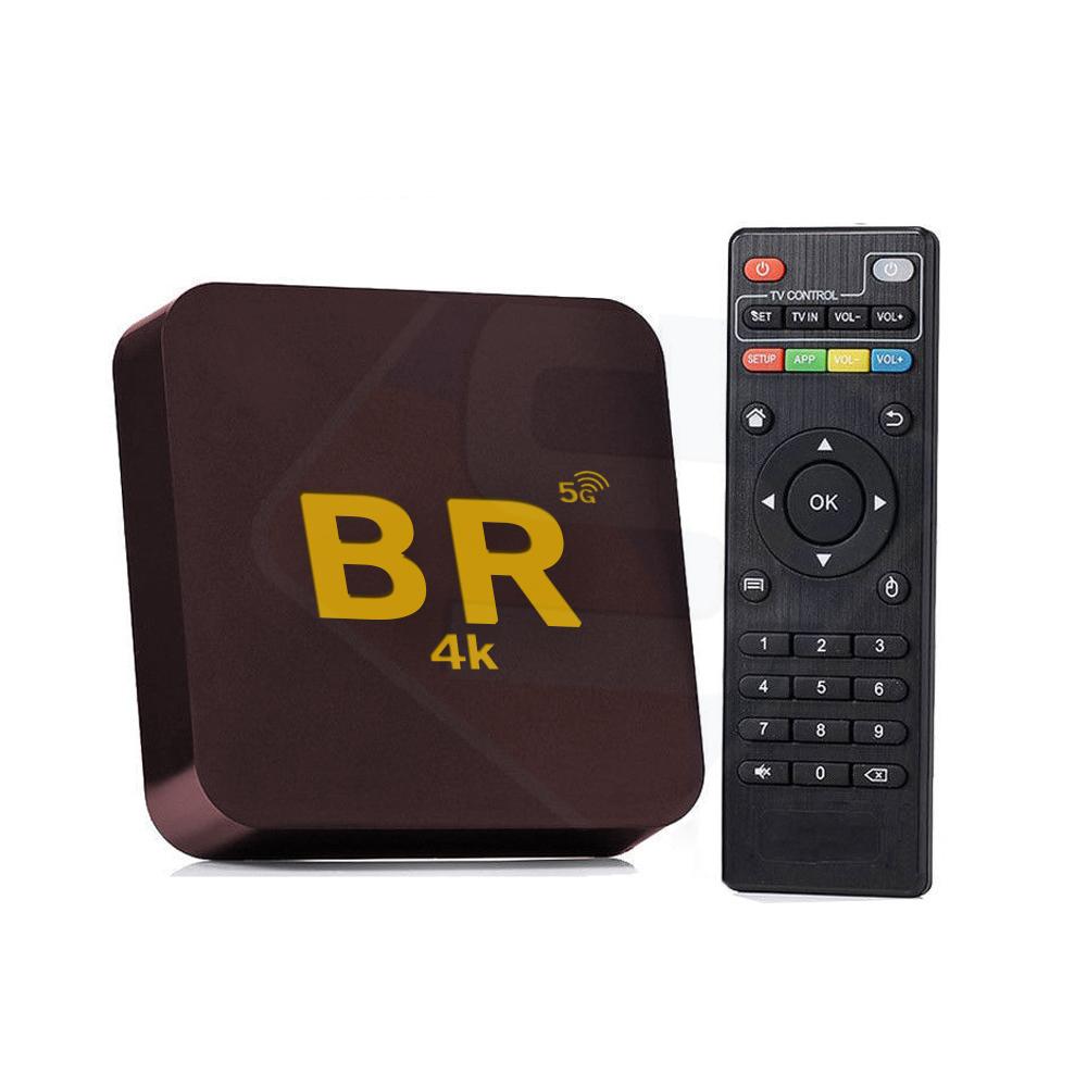 TV BOX Ultra HD 4K Roxo BR