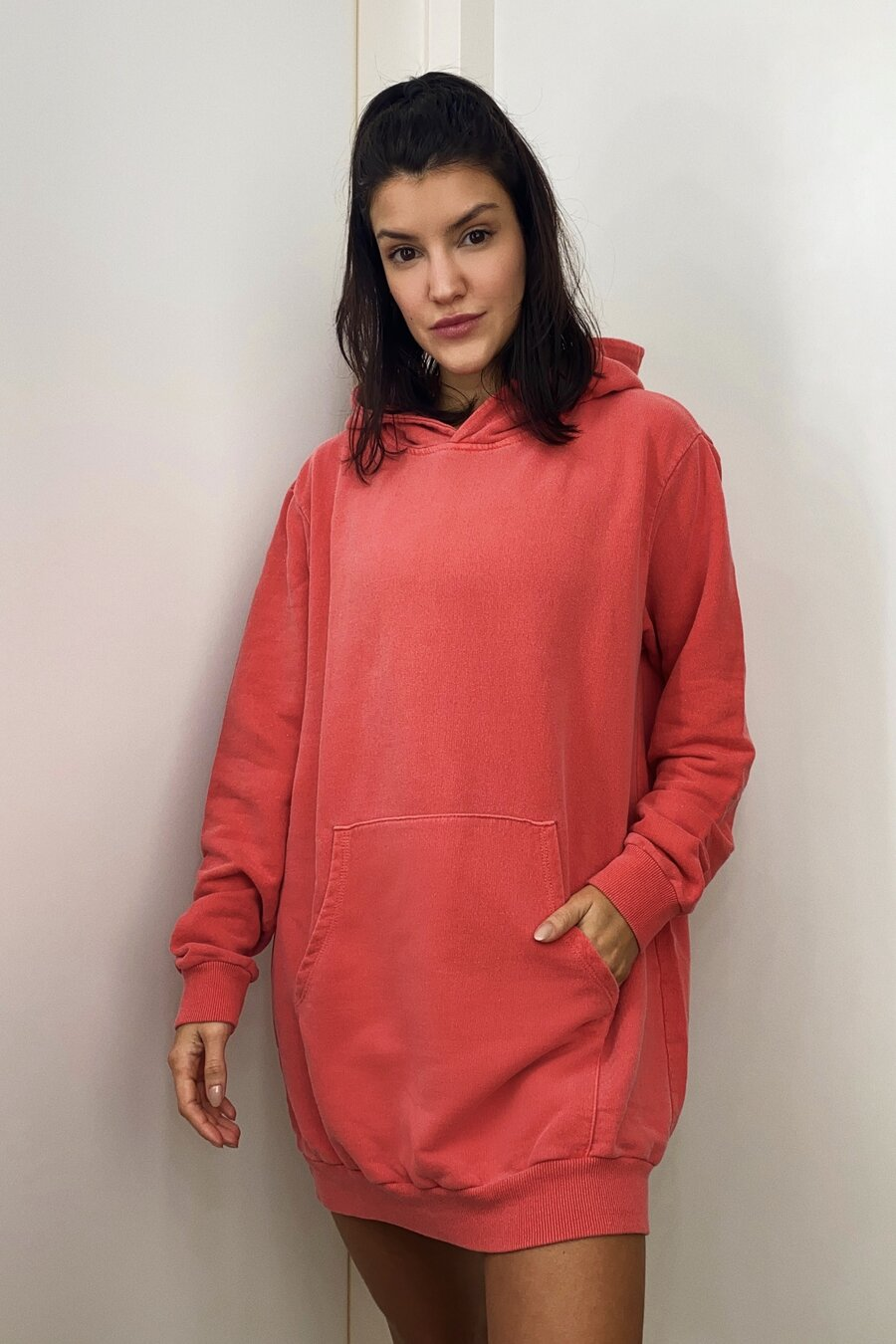 MOLETOM OVERSIZED RED