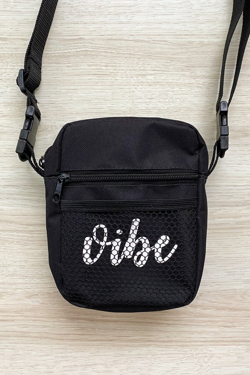 SHOULDER BAG VIBE BLACK